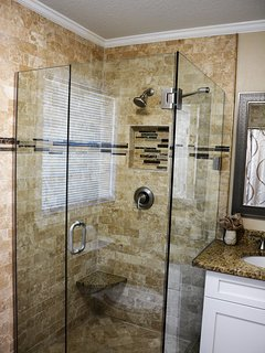 Luxury newly remodeled bathroom 1