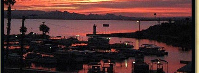 Sunset view from Havasu Landing Resort