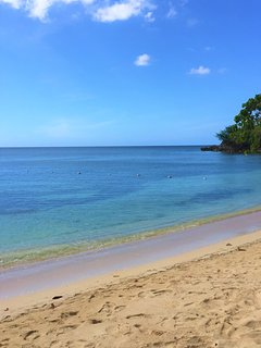 ENJOY THE QUIET AND TRANQUIL WATERS ON THIS PRIVATE BEACH