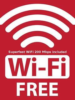 Suer WiFi for your private use only.