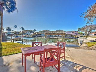 Spacious Waterfront Rockport House w/Private Dock!