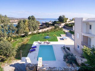 Star Seaview Villas, Just 100m From Loutraki Beach, Akrotiri Chania