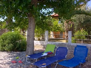 Accommodation on the beach on Corfu island-4 beds