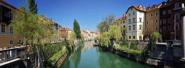 Ljubljana's attractions walking distance away