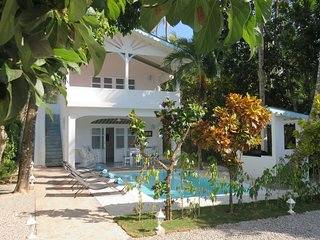 Charming Caribbean villa / 80M beach / bars / restaurants / Kite - 4 persons
