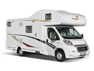A70 Dethleff Sunlight 6 Berth Motorhome, Pucklechurch