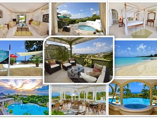 Mojito Villa, Sugar Hill luxury, beach club, ocean views, pools, bbq, wifi, Mount Standfast