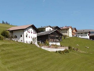 117B - Holiday Farm Tuene - One-bedroom Apartment, Ortisei
