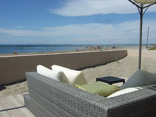 Stunning Beach Front Apartment/Grau d'Agde