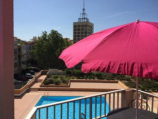 Stylish Studio+ Bunkbed Apart - Pool  & Port Views, Cap d'Agde