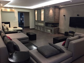 Modern apartment, nicest area in town.