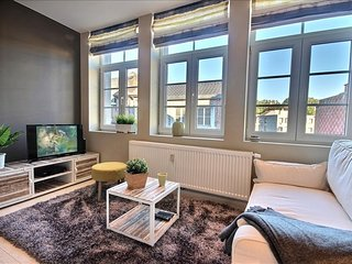 Apartment 288 m from the center of Liege with Terrace, Washing machine (445670)