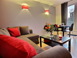 Apartment 941 m from the center of Liège with Terrace, Washing machine (449272), Luik