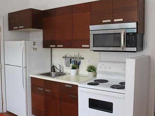 Studio apartment in the center of Montreal with Air conditioning, Terrace
