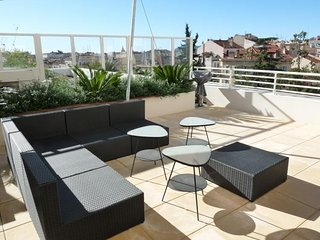 Apartment in the center of Cannes with Internet, Lift, Terrace (549752)