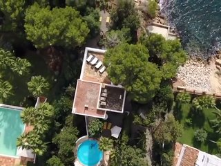 Ibiza Villa Cala Pada beach direct access 8guests