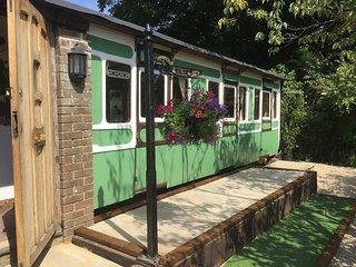 Charming Railway Carriage, Brighton