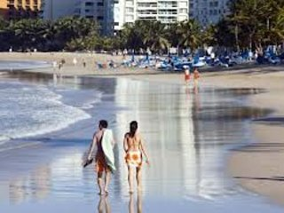 FINE 1BR Sleep 6/Steps to the beach, rest & Airport SJU