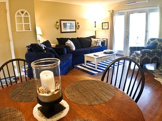 Ocean Edge - Attractive 2 BR (sleeps 6) with A/C & pool (fees apply) - BI0048