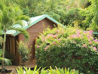 Case creole Mezzanine ... Wooden Hut with Mezza