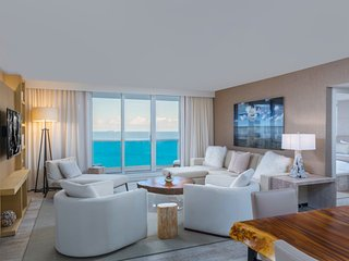 3/3 Beach Front Located in Luxurious Hotel 4411, Miami Beach
