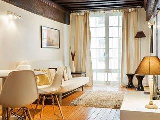 Quincampoix 2 apartment in 04ème - Hôtel-de-Ville - Le Marais with WiFi., París