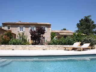 Provence Retreat holiday vacation large villa rental, france, southern france, provence, les alpilles, pool, walk to town, air conditioni, Eygalieres