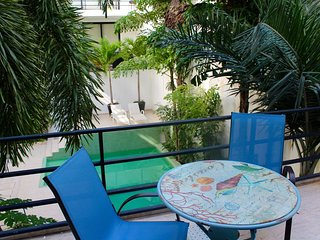 Cozy apartment with terrace in downtown, Playa del Carmen