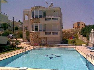 Villa Apartments Chania Stalos Greece Cactus