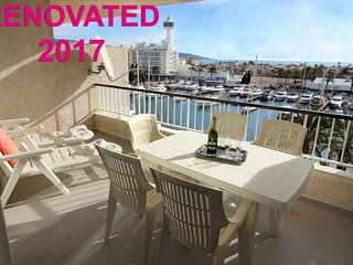Apart-rent (0175) Apartamento al canal & vistas al mar Empuriabrava