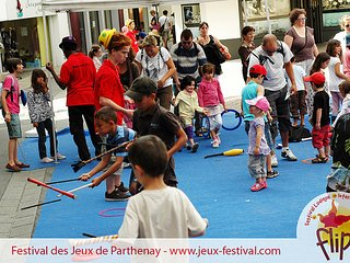 Fun at the Flip Festival Parthenay 12th -23rd July 2017