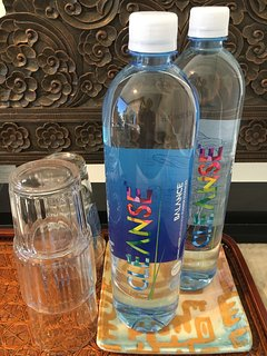 (2) 'Cleanse Balance' Spring Water Bottles provided on arrival, with Australian Flower Essences.