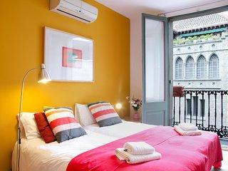 Fantastico apartamento de 70m2 en pleno gotico con mucha luz natural