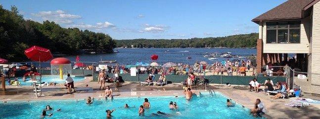 Main Lodge beach/pool/ and tiki bar area