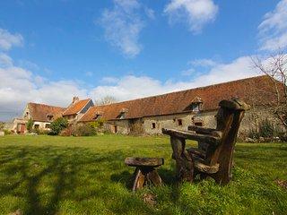 Grand gite de charme  a Gancourt  saint Etienne, Dampierre-en-Bray