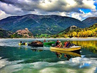 STONE HOUSE Lake & Mountain view - 100% Relax!