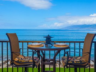 Kaleialoha 211 Direct Ocean Front -Watch the Whales!, Lahaina