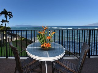 Bright Blue Direct Ocean Views From Every Room! Summer Dates Still Available!, Lahaina