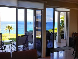 Kapalua Bay Villa 23G2 Breath Taking Luxury Ocean front Bay Villa