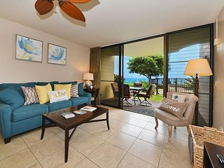 Kahana Reef 103 1br/1ba Remodeled Direct Ocean Front