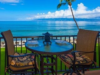Kaleialoha 211 Direct Ocean Front -Watch the Whales!