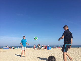 Fun on Curracloe Beach