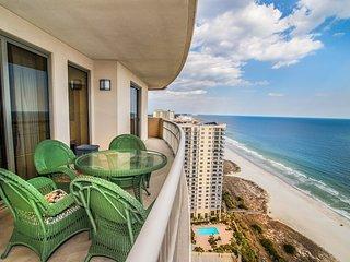 Spacious Corner Oceanfront Condo w/Wraparound Balcony!