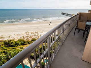 Immaculate 8th Floor Oceanfront Margate Tower. Free Wi-Fi & Cable too.