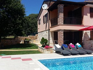 VILLA LUNA with swimming pool, Dracevac-Porec