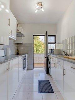 All you need, oven, hob, microwave, fridge, washing machine, kettle, toaster etc