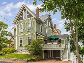 Welcome Home: Walk to Gloucester's historic harbor and beaches.