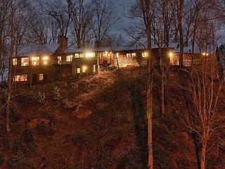 Round Knob Lodge | 6 BR | Historic, Renovated Railroad Executive Lodge, Black Mountain