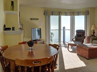 Spectacular 3rd floor condo located right on Siletz Bay in Lincoln City!