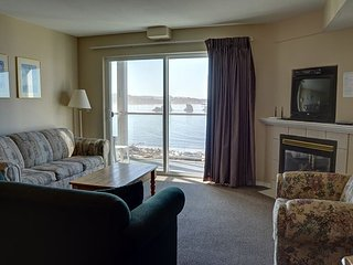 Enjoy this 2nd floor condo with amazing views of the coast in Lincoln City!